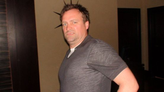 David Hewlett à la projection de Conan