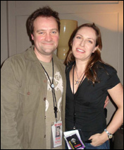 David Hewlett et Jane Loughman