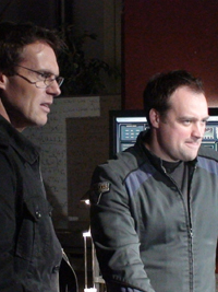 David Hewlett et Michael Shanks