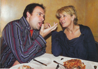 David Hewlett et Amanda Tapping
