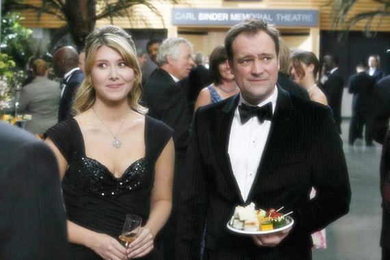 David Hewlett et Jewel Staite dans Brain Storm