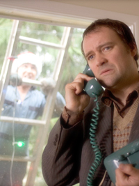 David Hewlett dans A Dog's Breakfast