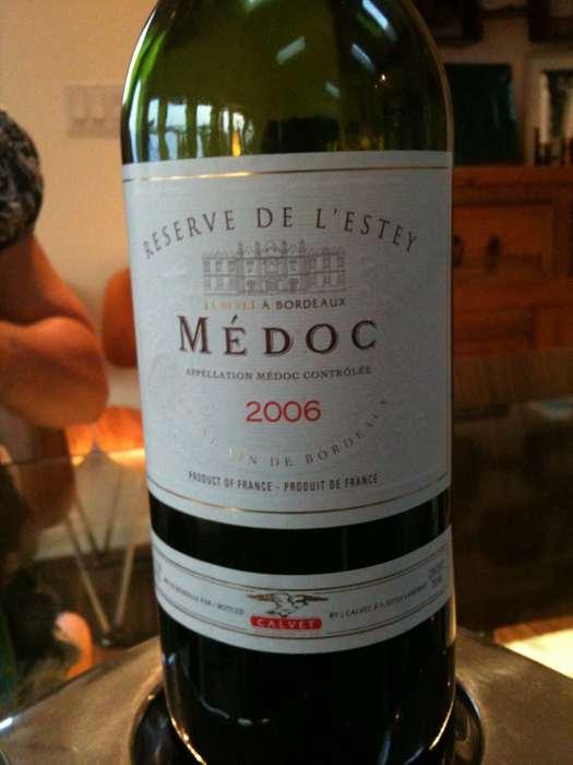 La bouteille de vin de David Hewlett